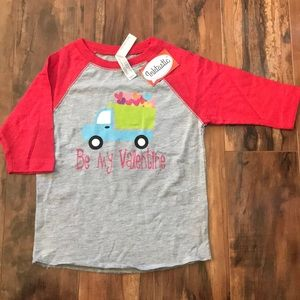 Other - Valentine's Day Dump Truck Shirt 2T